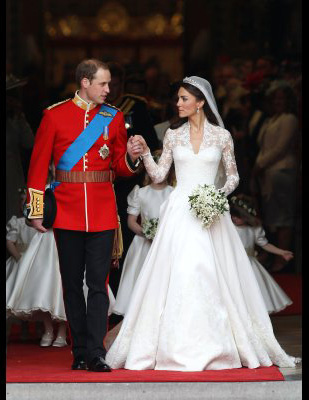 The wedding of Kate Middleton & Prince William